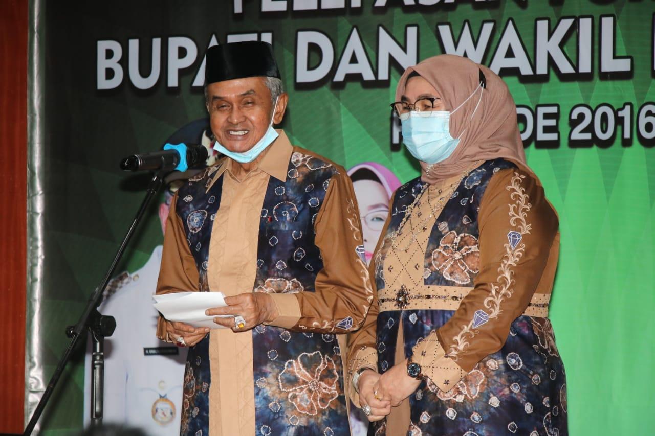 Purna Tugas Bupati dan Wakil Bupati Banjar 5 Tahun Memimpin Kab Banjar