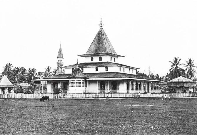 Masjid Martapura Tempo Dulu