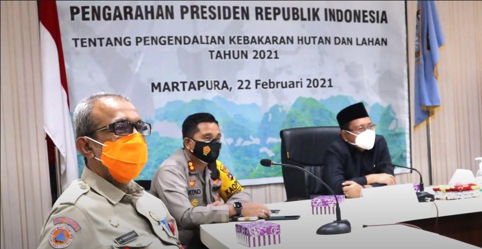 Presiden Joko Widodo Wanti-Wanti Kepala Daerah dan TNI/Polri Waspada Karhutla
