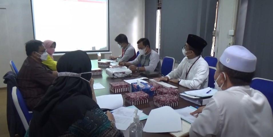 Pemkab Banjar Gelar Rapat Persiapan Pelantikan Bupati dan Wakil Bupati Banjar 2021