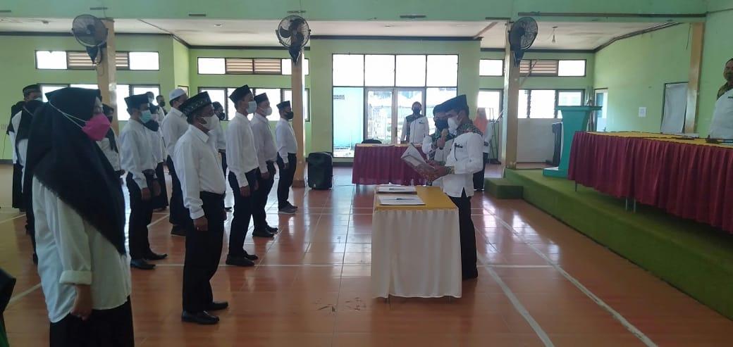 25 Panitia Pemilihan Kecamatan Resmi Dilantik