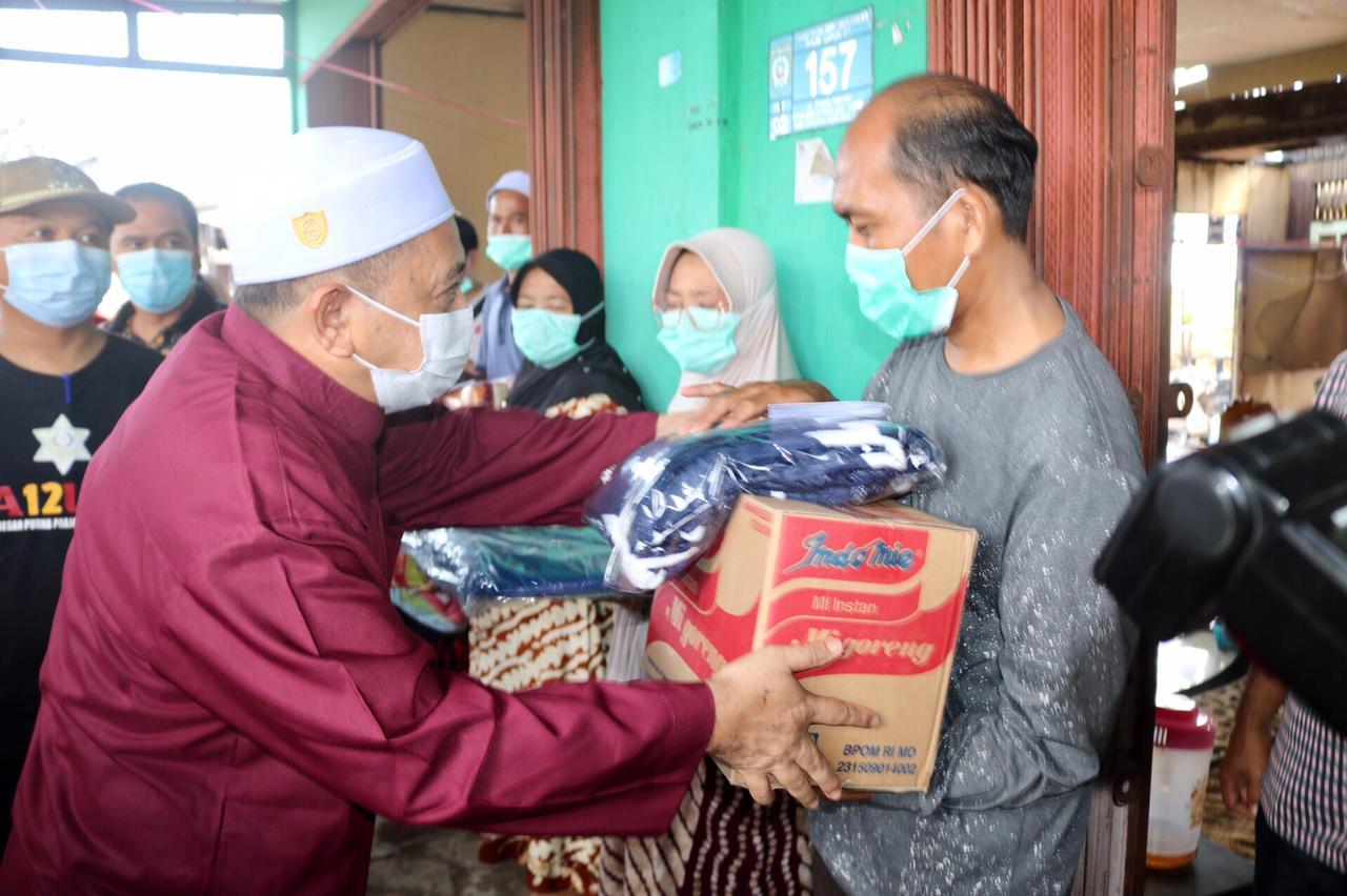 Korban Kebakaran Desa Malintang Terima Bantuan