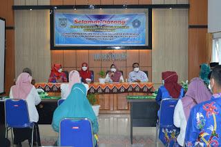 Kunjungan Kerja Ketua TP PKK Kabupaten Pulang Pisau di DP2KBP3A