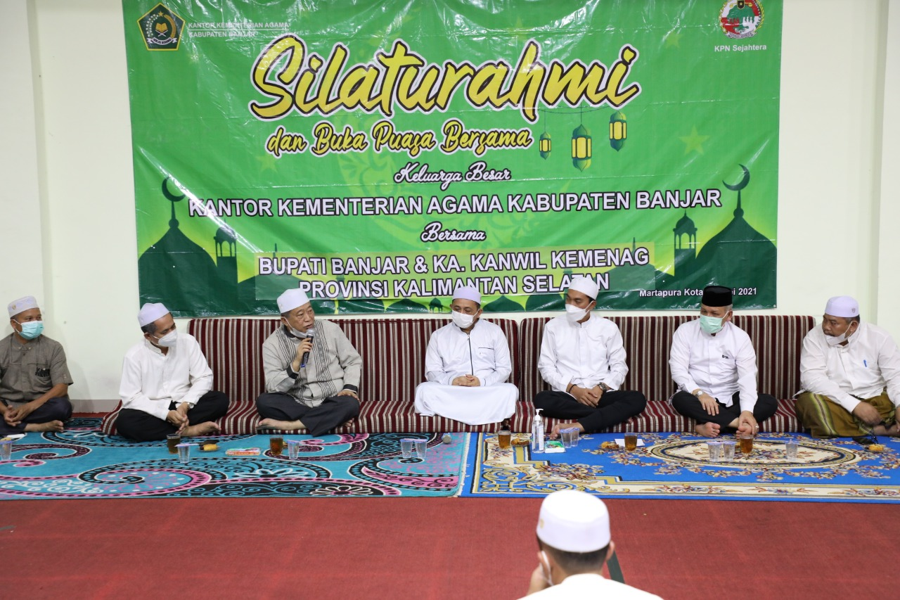Buka Puasa Bersama, Saidi Mansyur Pinta Kemenag Banjar Dukung Misi Pemerintah Daerah