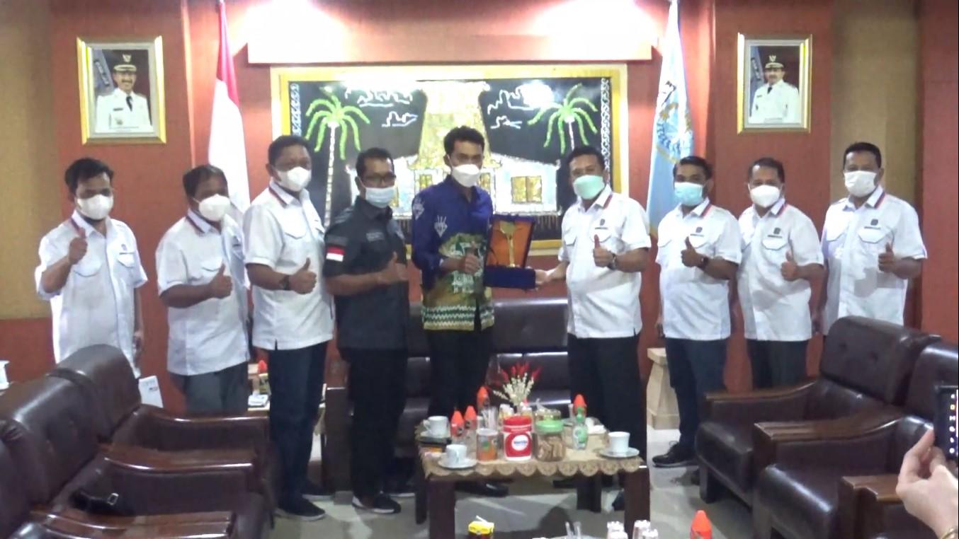 Bupati Banjar Terima Kunjungan DPD REI Kalimantan Selatan