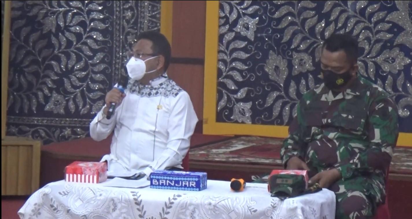 Jelang Ramadhan, Pemkab Banjar Gelar Rakor Penanganan Pencegahan Covid-19