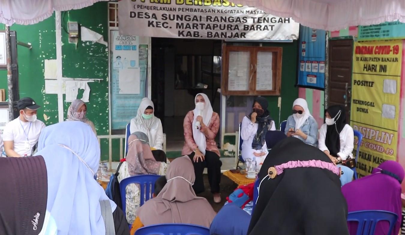 Gitaku Peduli Menyasar Masyarakat Di Kecamatan Martapura Barat